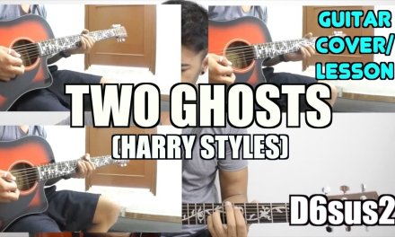 Two Ghosts | Harry Styles | Guitar Cover + Lesson with SOLO and Tabs