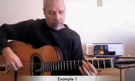 Doug Munro for Just Jazz Guitar, lesson 1
