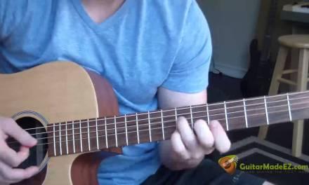 John Cougar Mellencamp – Jack and Diane – Guitar Lesson (JUST LIKE THE ORIGINAL RECORDING!)