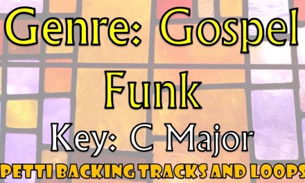C Major – Gospel Funk Guitar Backing Track