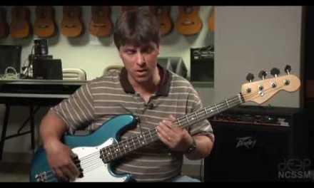 Jazz Bass Lesson