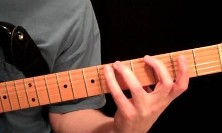 Legato Exercises – Intermediate Guitar Lesson