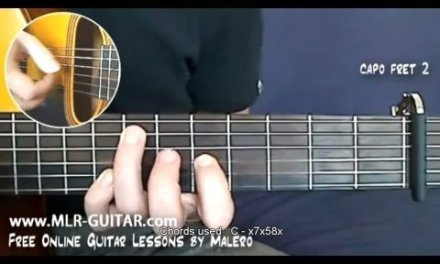Shape Of My Heart Guitar Lesson – part 1 of 6