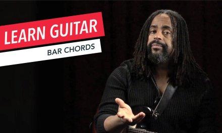 Beginner Guitar Lessons: How to Play Bar Chords | Guitar | Lesson | Beginner