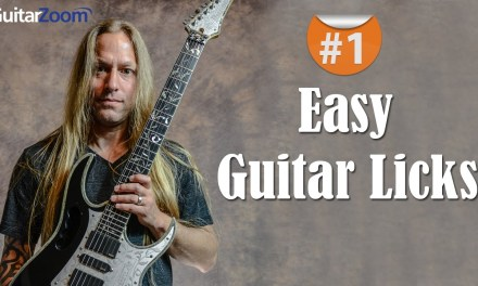 Easy Guitar Licks – Part 1 | Steve Stine | Guitar Zoom