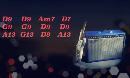 Blues in D9 Guitar Backing Track