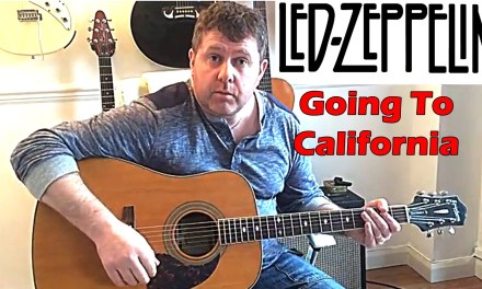 How To Play Led Zeppelin – Going To California – Guitar Lesson