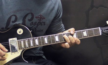 Gary Moore – Trouble Ain't Far Behind (INTRO) – Blues Guitar Lesson (w/Tabs)