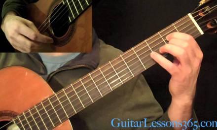 Recuerdos de la Alhambra Guitar Lesson – Francisco Tarrega – Performance