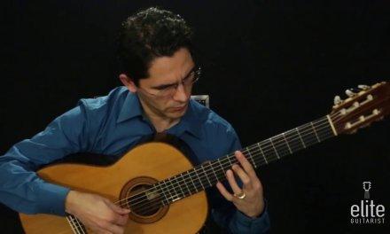 EliteGuitarist.com – Adelita by Francisco Tarrega Performance