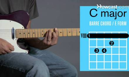 How to Play Barre Chords in C Major | Guitar Lessons