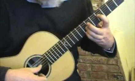 Classical Guitar With The Faith Parlour electro acoustic
