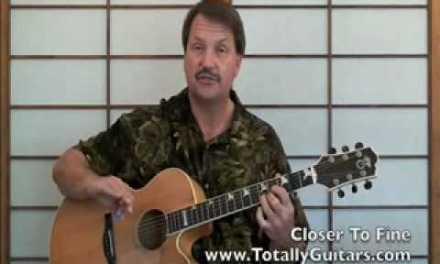 Mini Lesson Closer To Fine,Indigo Girls acoustic guitar lesson part 1