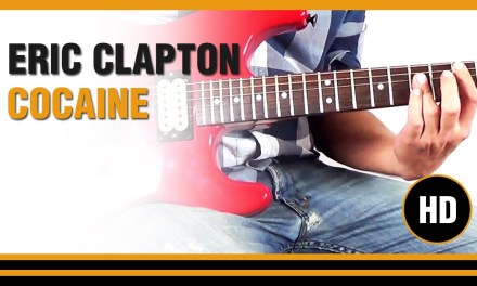 How to play Cocaine from Eric Clapton DEMO- Electric Guitar GUITAR LESSON