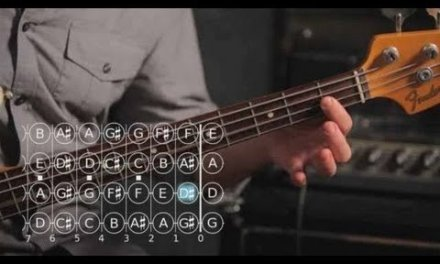 How to Play a B Major Scale   Bass Guitar