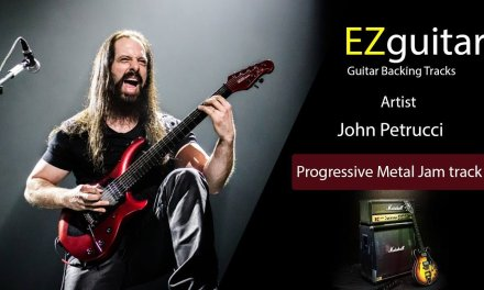 John Petrucci – Guitar Backing Tracks – Progressive Metal Jam Track