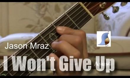 Jason Mraz – I Won't Give Up – easy guitar lesson