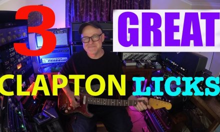3 Great Clapton Licks   Tim Pierce   Guitar Lesson   How To Play