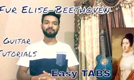 Fur Elise Guitar Lesson Easy Hindi- Beethoven