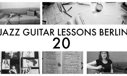 JAZZ GUITAR LESSONS BERLIN NR. 20: Eartraining (1)