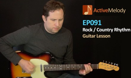Rock / Country Guitar Rhythm Lesson (Part 1 of 2)  – EP091