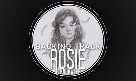 Rosie Guitar Solo Backing Track – John Mayer