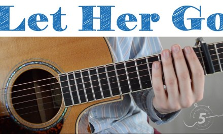 Passenger – Let Her Go — Quick, Simple Lesson (Chords, Strumming, Play-along)