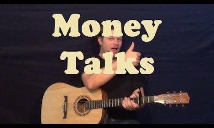 Money Talks (AC/DC) Easy Guitar Lesson Strum Chords Licks How to Play Tutorial