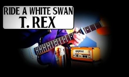 MARC BOLAN – T REX – RIDE A WHITE SWAN – GUITAR BREAKDOWN/LESSON/HOW TO PLAY – INC BLUES FINGER PICK