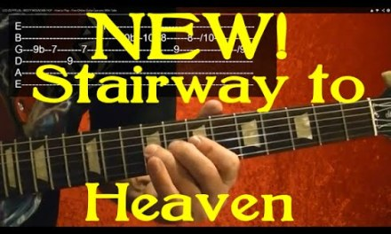 STAIRWAY TO HEAVEN – New Arrangement! Guitar Lesson – Jimmy Page