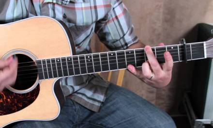 Coldplay – Every Teardrop is a Waterfall – Acoustic guitar lesson how to play