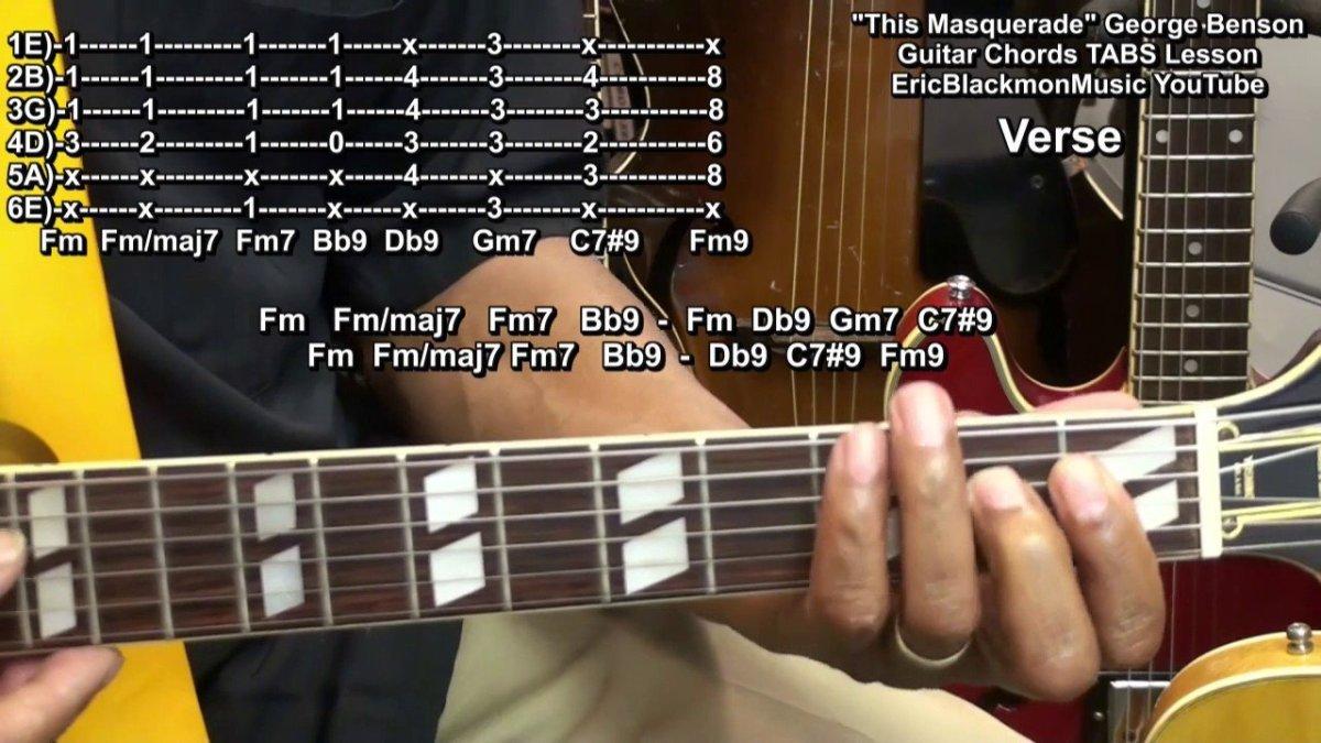This Masquerade George Benson Guitar Chords Lesson