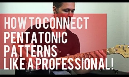How to Connect Pentatonic Patterns Like a Pro! | Secrets of Lead Guitar Legends