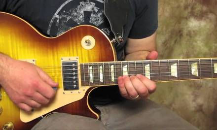 Slash – Style of – Solo Knocking On Heaven's Door – How to play the first Solo –