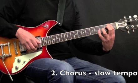 Walk a bit – Jazz Blues Guitar Comping – Achim Kohl – Fast & Slow