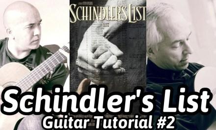 Schindler's List | Classical Guitar Tutorial#2 | How To Play Schindler's List On Guitar