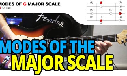 Modes of the Major Scale – Guitar Lesson