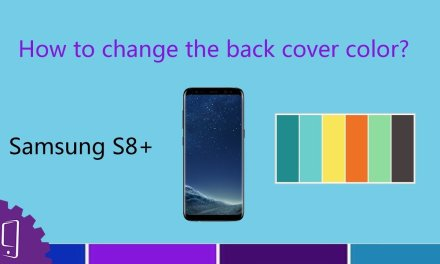 Samsung Galaxy S8 Plus Battery Cover Replacement Guide