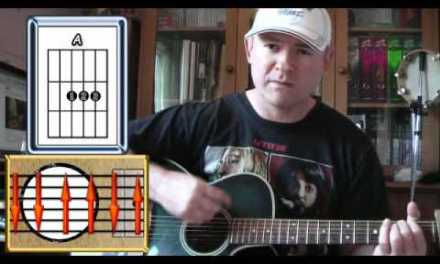 Mad World – Tears For Fears – Guitar Lesson (easy)
