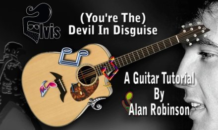 (You're The) Devil In Disguise – Elvis – Acoustic Guitar lesson (easy-ish)