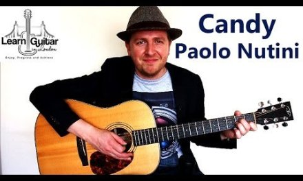 Candy – Paolo Nutini – Easy Acoustic Guitar Lesson – How to Play