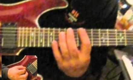 Yngwie Malmsteen style – E Minor Arpeggio Lick 3 – Guitar Lesson w/ Edward Andrew