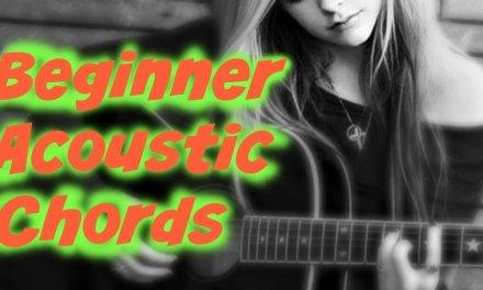 Beautiful Acoustic Chords (No Bar Chords) 80's rhythm