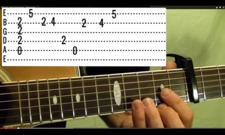 CALIFORNIA DREAMING – The Mamas and The Papas – Guitar Lesson