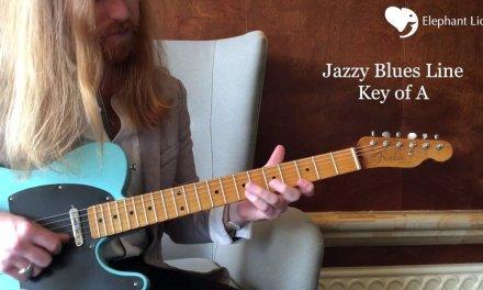 Robin Ford Jazz Blues Guitar Lick Lesson. Nicky V