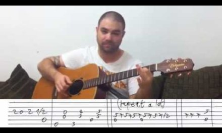 Fingerstyle Tutorial: Ain't No Sunshine (When She's Gone) – w/ TAB (Guitar Lesson)