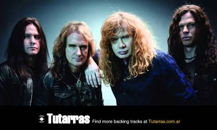 Megadeth – tornado of souls version 5 [Guitar Backing tracks]