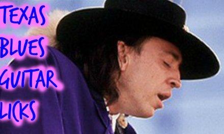Texas Blues Guitar Licks (Pentatonic tricks)