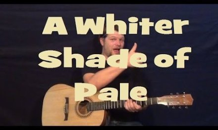 A Whiter Shade Of Pale (Procol Harum) Guitar Lesson How to Play Tutorial