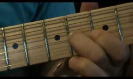rock blues guitar lesson 1 2